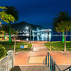 Picton waterfront at night