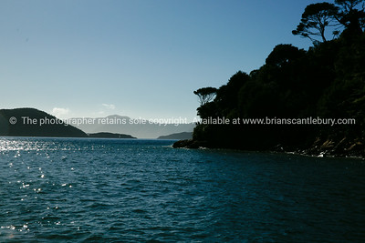 Marlborough Sounds. New Zealand images.