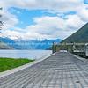 Scenic Lake Rotoroa in Nelson Lakes National Park South Island
