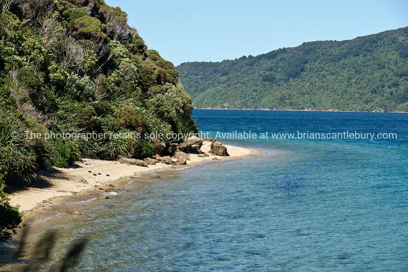 Marlborough Sounds, New Zealand Images.