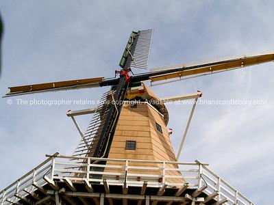 Dutch windmill, Foxton, New Zealand.