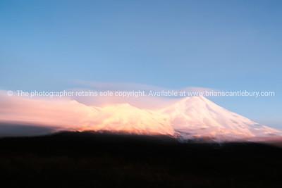 Mount Egmont. Windswept.