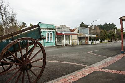 Old buildings, Eltham, Taranaki.