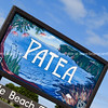 Patea, town sign.
