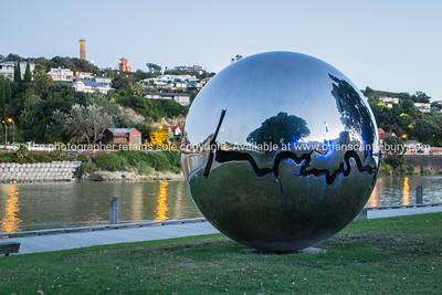 Bearing. Wanganui Riverside. New Zealand. - Abstract Public Sculptures