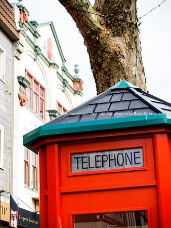 Wanganui telephone box