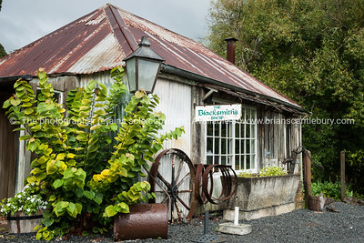 The blacksmiths shop, Kerikeri, Northland. New Zealand images.