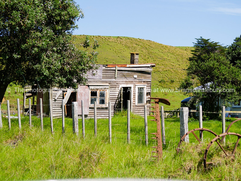 Old farm cottage, Far North, Northland.
