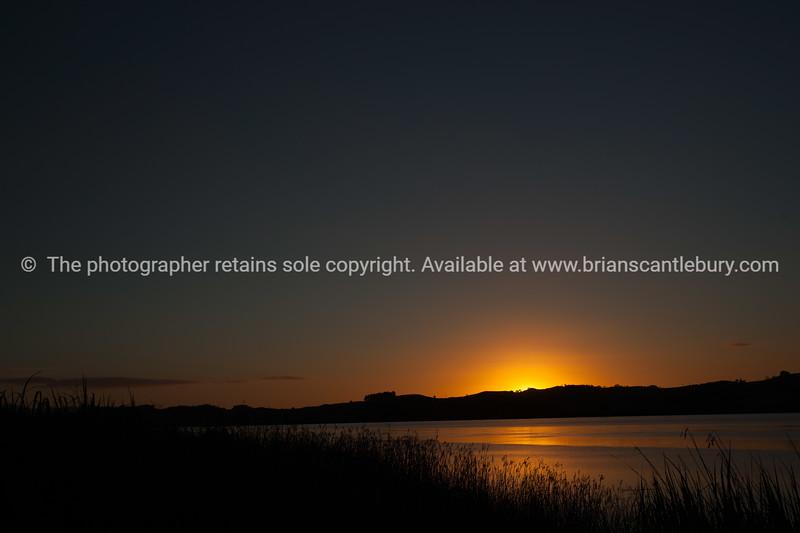Northland sunset.