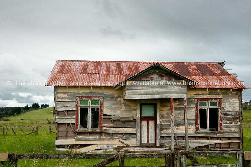 Derelict farm house.