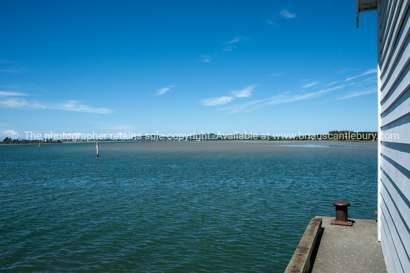 Big Omaha Bay wharf, Northland