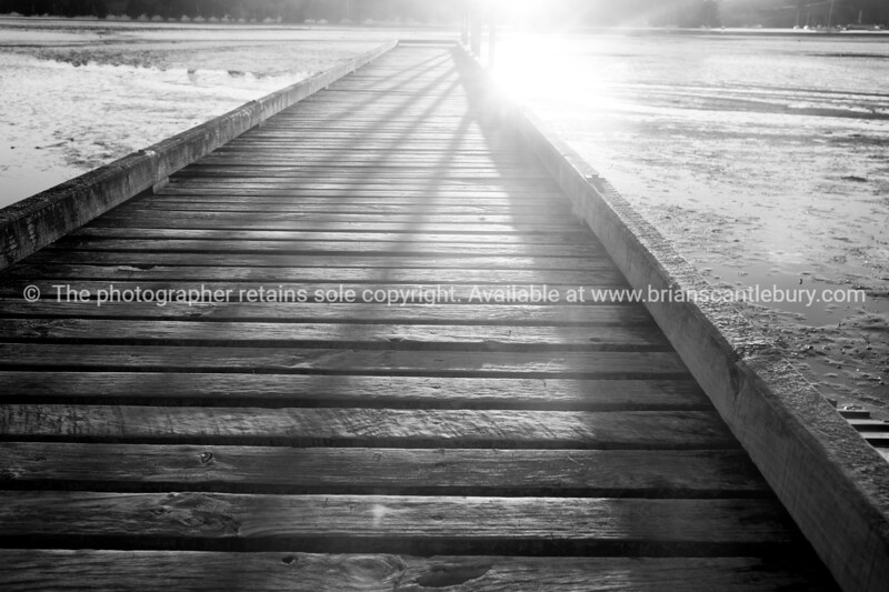 Martins bay Jetty.