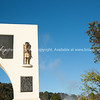 Rotorua, entrance arch, atatue and engraved maori inscription. -new-zealand