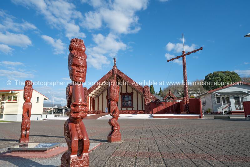 Marae at Ohinemutu Rotorua