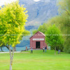 Glenorchy wharf shed.