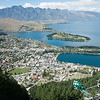 South Island Scenic.  Queenstown from top of Bob's Peak.