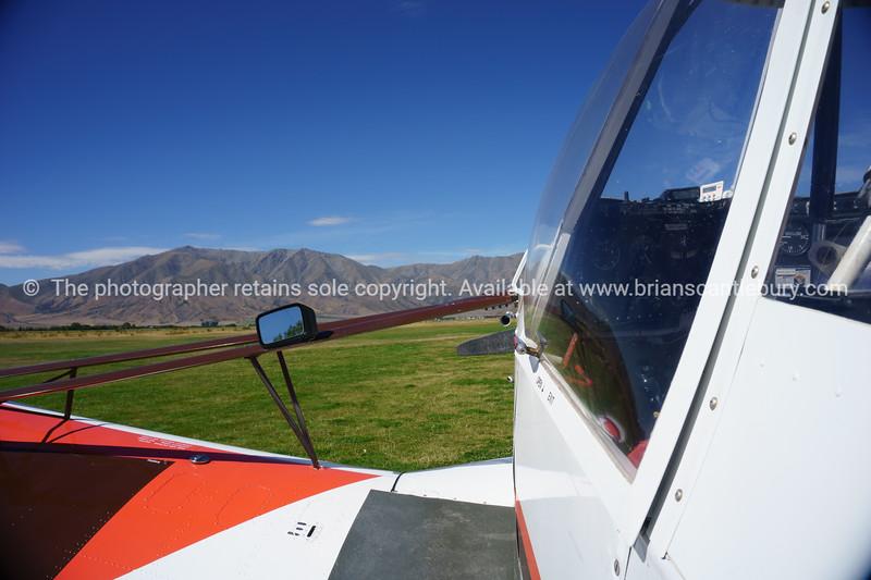 Planes on Omarama Airfield.