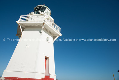 Waipapa Point Lighthouse, The Catlins,  Southland, New Zealand.