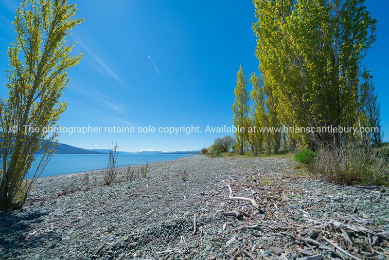 Stony lake edge