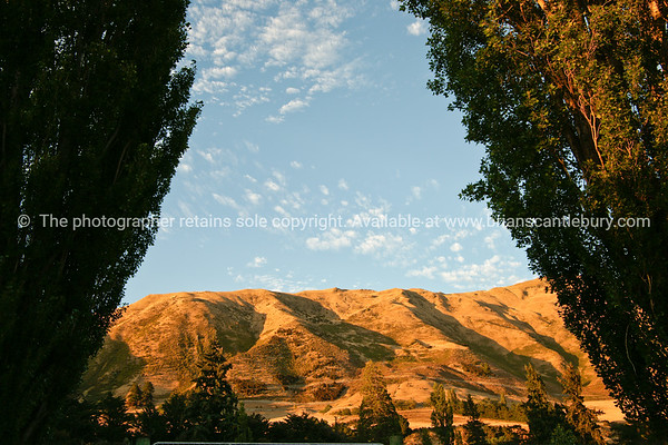 Central Otago scenery and places of interest. New Zealand.