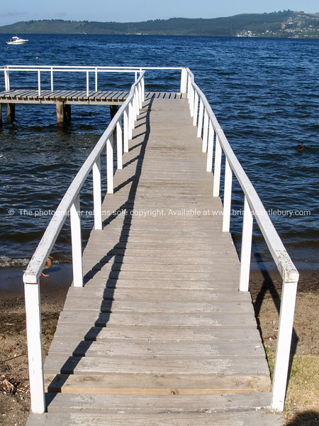 Jetty on Lake Taupo.