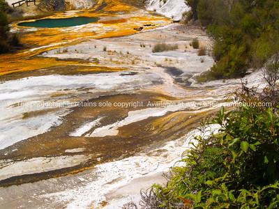 Wai-o-tapu geothermal wonderland.