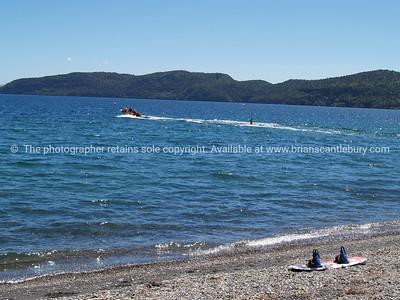 Lake Taupo, playground.