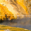 Flowing sulphur formations.