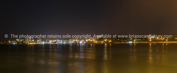 Tauranga city lights
