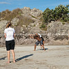 """Capoeira being practised on Mount Maunganui beach, Tauranga, New Zealand.<br /> Capoeira is a game, a sport, an art and a life philosophy, founded in Brasil in 1984. -4<br /> Model Release; no. See;  <a href=""""http://www.blurb.com/b/3811392-tauranga"""">http://www.blurb.com/b/3811392-tauranga</a> mount maunganui landscape photography, Tauranga Photos; Tauranga photos, Photos of Tauranga Also see; <a href=""""http://www.brianscantlebury.com/Events"""">http://www.brianscantlebury.com/Events</a>"""
