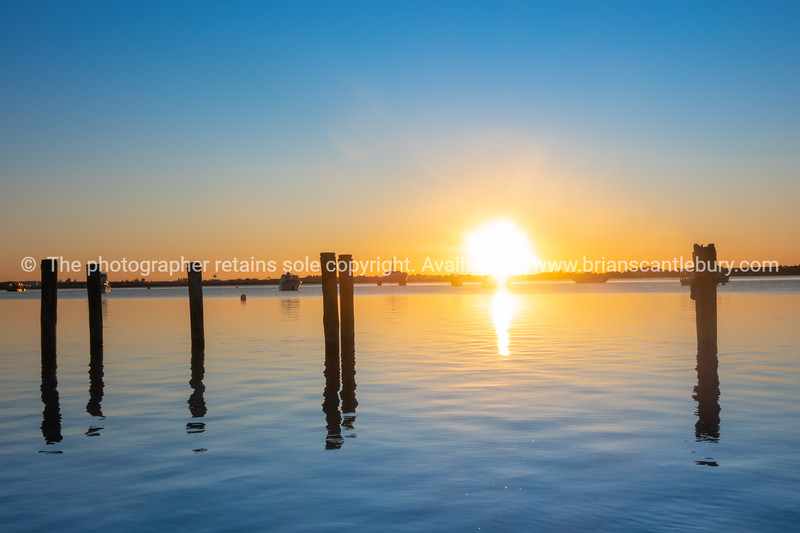 Sunrises over Tauranga harbour