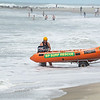 MLSC surf rescue, launching inflatable.