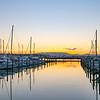 Marina sunset.