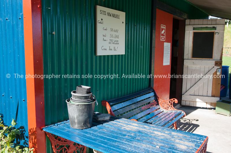 "Community garden shed Otumoetai, Tauranga. See;  <a href=""http://www.blurb.com/b/3811392-tauranga"">http://www.blurb.com/b/3811392-tauranga</a> mount maunganui landscape photography, Tauranga Photos; Tauranga photos, Photos of Tauranga Also see; <a href=""http://www.brianscantlebury.com/Events"">http://www.brianscantlebury.com/Events</a>"