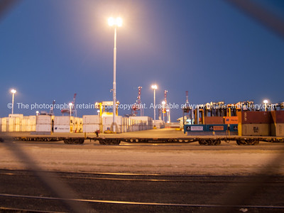 Tauranga Container Port facility on Sulphur Point.