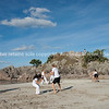 """Capoeira being practised on Mount Maunganui beach, Tauranga, New Zealand.<br /> Capoeira is a game, a sport, an art and a life philosophy, founded in Brasil in 1984. - 1<br /> Model Release; no. See;  <a href=""""http://www.blurb.com/b/3811392-tauranga"""">http://www.blurb.com/b/3811392-tauranga</a> mount maunganui landscape photography, Tauranga Photos; Tauranga photos, Photos of Tauranga Also see; <a href=""""http://www.brianscantlebury.com/Events"""">http://www.brianscantlebury.com/Events</a>"""