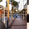 Tauranga CBD, pedestrian precinct known as Red Square.