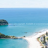 """Views from the top, over the ocean with Moturiki (or leisure Island) and Motuotau (or Rabbit Island) just off the beach. See;  <a href=""""http://www.blurb.com/b/3811392-tauranga"""">http://www.blurb.com/b/3811392-tauranga</a> mount maunganui landscape photography, Tauranga Photos; Tauranga photos, Photos of Tauranga Also see; <a href=""""http://www.brianscantlebury.com/Events"""">http://www.brianscantlebury.com/Events</a>"""