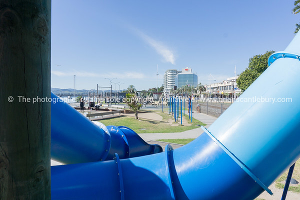 Tauranga waterfront public space & facilities.