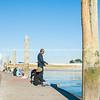 Fishing on Tauranga Bridge Marina pier