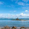 Tangaroa, Mythical God of Ocean bronze statue guarding entrance to Tauranga Harbour.