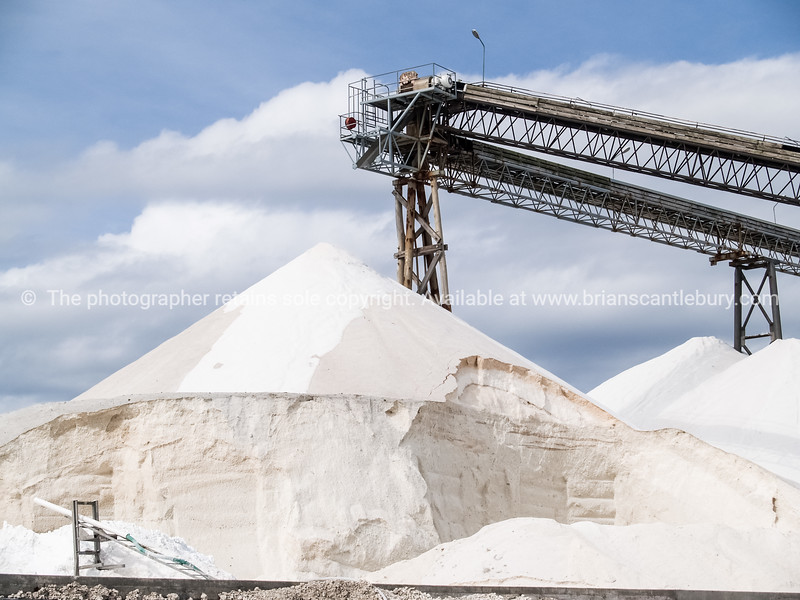 """Salt works, mountain of salt - 2 See;  <a href=""""http://www.blurb.com/b/3811392-tauranga"""">http://www.blurb.com/b/3811392-tauranga</a> mount maunganui landscape photography, Tauranga Photos; Tauranga photos, Photos of Tauranga Also see; <a href=""""http://www.brianscantlebury.com/Events"""">http://www.brianscantlebury.com/Events</a>"""