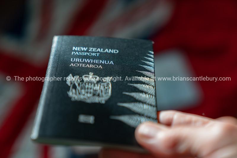 New Zealand passort