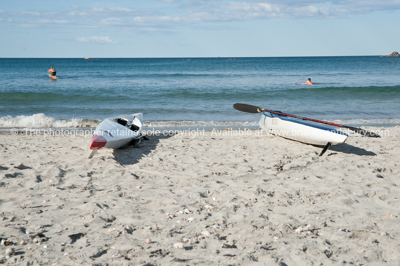 """Empty rowing skiffs lie on the beach at Mount Maunganui. See;  <a href=""""http://www.blurb.com/b/3811392-tauranga"""">http://www.blurb.com/b/3811392-tauranga</a> mount maunganui landscape photography, Tauranga Photos; Tauranga photos, Photos of Tauranga Also see; <a href=""""http://www.brianscantlebury.com/Events"""">http://www.brianscantlebury.com/Events</a>"""