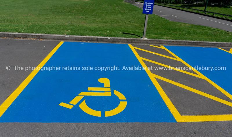Disabilityle car park