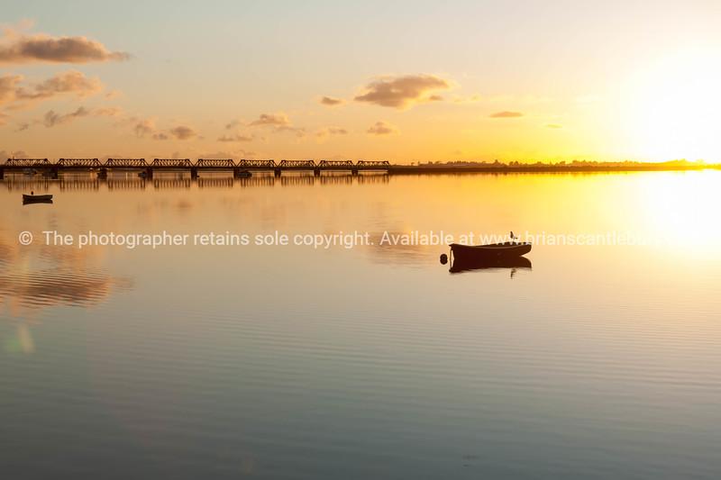 Sunrise and calmness