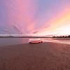 Sunset over Tauranga harbour