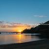 Sun sets over Pilot Bay