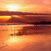 Morning light along Papamoa Beach