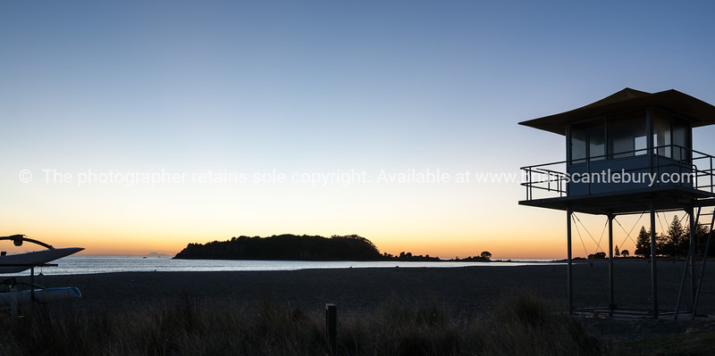 Sunrise at Mount Maunganui.